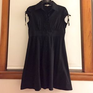 Necessary Objects Dresses & Skirts - Black button down dress