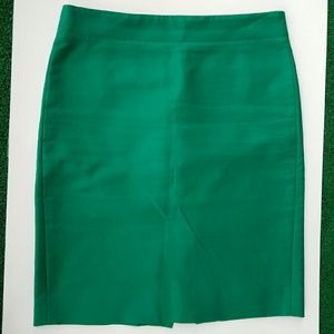 J. Crew Dresses & Skirts - J. Crew Green No. 2 Pencil Skirt