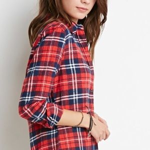 NWT Trendy Plaid Flannel Shirt Small
