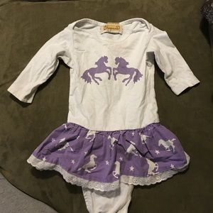 shyanne Other - Long sleeve girls onsie dress