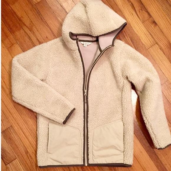 9391912e3 Lands' End Jackets & Coats | Salelands End Kids Sherpa Fleece Zip Up ...
