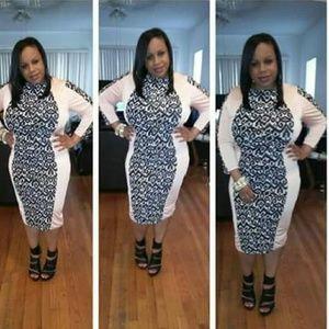 Women Spandex 1X Dress