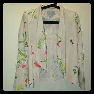 H&M Cream Jacket size 2