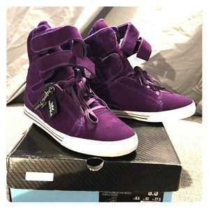Supra Other - Limited Edition Supra TK Society - Purple Sued