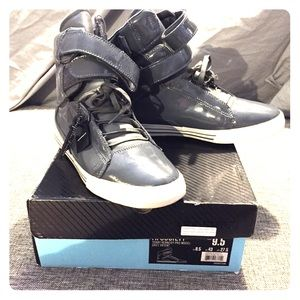 Supra Other - Supra TK Society - Grey Patent Leather