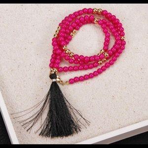 Jewelry - Tassel Wrap Bracelet/Necklace