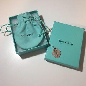 Tiffany & Co. Jewelry - Tiffany & Co. Heart w/ key Necklace