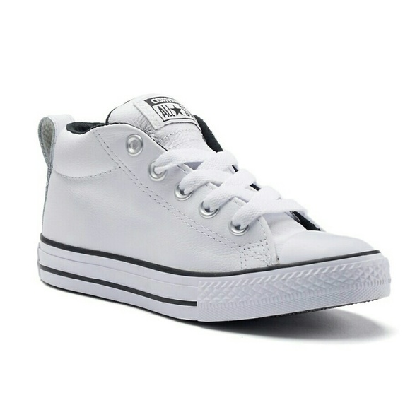 45a40463e5b Converse Other - KIDS Converse in White Leather size 2