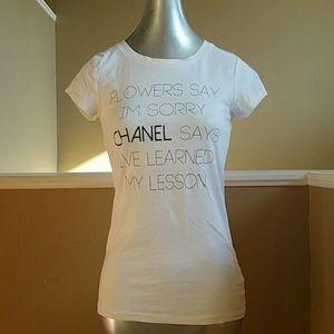 Chanel tee shirt non real