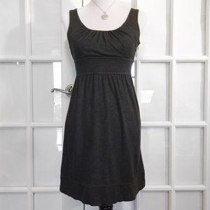 Ann Taylor Dresses & Skirts - Ann Taylor Charcoal Banded-Waist Dress