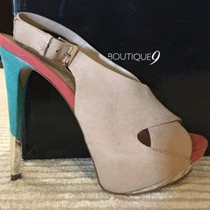 Boutique 9 Shoes - NIB Boutique 9 Slingback PeepToe size 9 'Navarro'