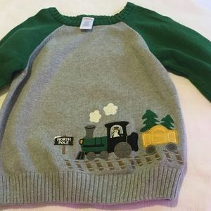 Gymboree Other - 🚂 GYMBOREE lovely train sweater boys size 5 boys