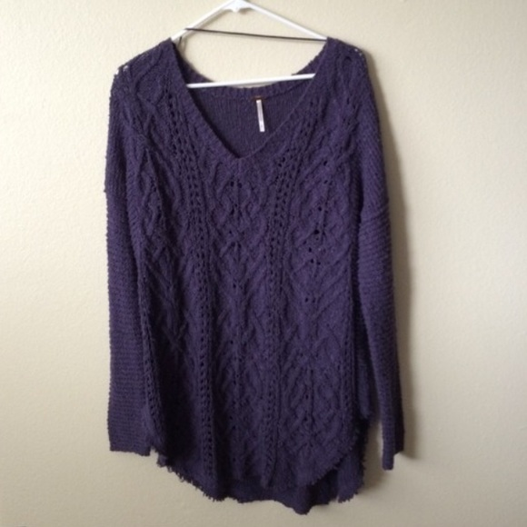244ac251c3bcb Free People Sweaters - Free People Cross My Heart Pullover Sweater