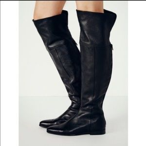Free People Shoes - Free People (Seychelles) OTK  leather boots SZ 9.5