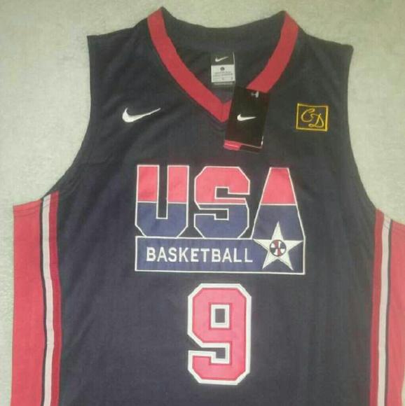 best service a8c76 2196a Jordan 92 USA Barcelona jersey NWT