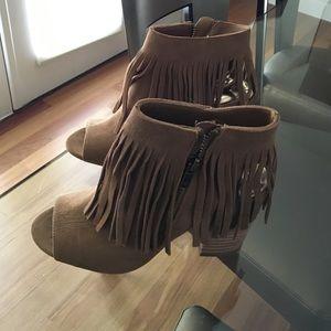 New suede booties