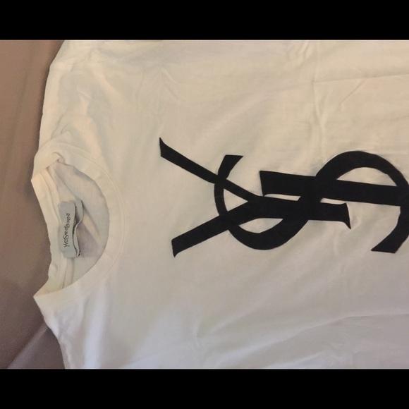 74 Off Yves Saint Laurent Tops Yves Saint Laurent Logo