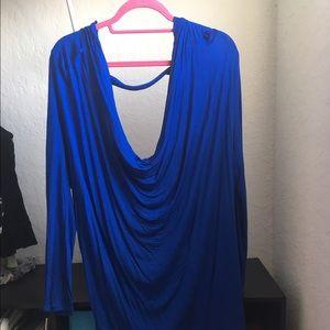 Express Tops - Express Royal Blue Long Sleeve Top