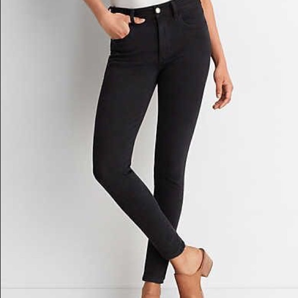 1ba5152551 American Eagle Outfitters Denim - American eagle black hi-rise jegging super  stretch