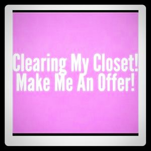 All reasonable offers accepted!!!!