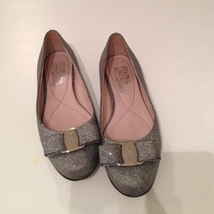 Salvatore Ferragamo Shoes - ❤FERRAGAMO LIMITED EDITION GREY BALLET FLATS