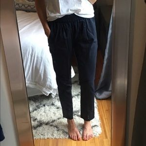 J Crew Navy Trousers