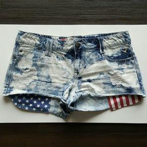 Grane Pants - GRANE junior girl/women hip fit denim shorts