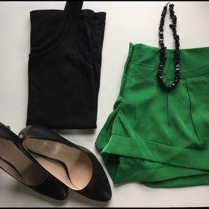 SALE Express Green Shorts