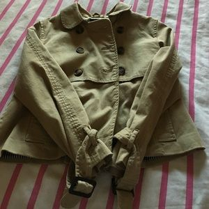 H&M Jackets & Blazers - H&M cargo jacket size 4