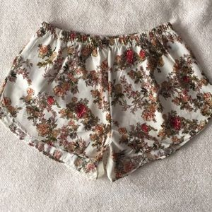 Ambiance Apparel Pants - Floral Hot Shorts