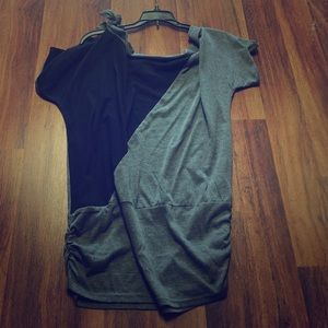 Allegra K Tops - Black and gray tunic