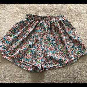 Frenchi Floral Woven Shorts