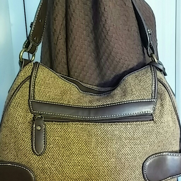 acfbd94496d Chaps - Ladies vintage Chaps Ralph Lauren bag brown Tweed from Peachy s  closet on Poshmark
