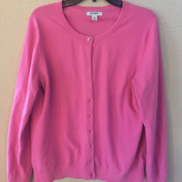 Old Navy - Old Navy Pink Sweater Cardigan XL from Arnette's closet ...