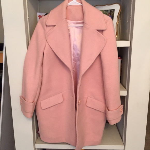 Urban Outfitters Jackets Coats Baby Pinkblush Wool Coat Poshmark