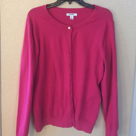 Old Navy - Old Navy Dark Pink Sweater Cardigan XL from Arnette's ...