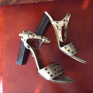 Dolce & Gabbana Shoes - Suede studded heels
