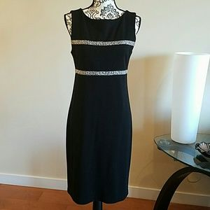 Peck & Peck Black Dress