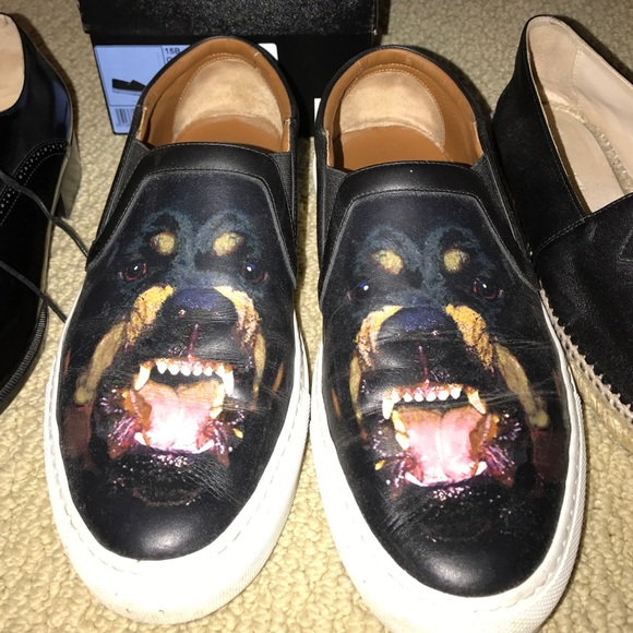 Givenchy Rottweiler Slipon Sneakers