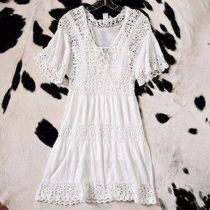Anthropologie Crochet Dress