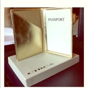 Joan & David Accessories - *Reduced* Elegant Passport Cover *never used*