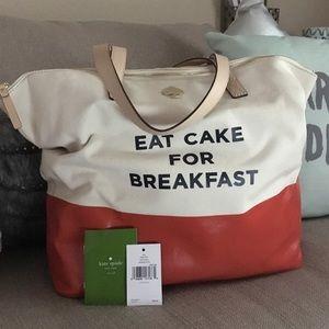 kate spade Handbags - Eat Cake for Breakfast - Kate spade