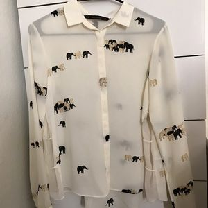 ☃️SALE☃️ Zara blouse