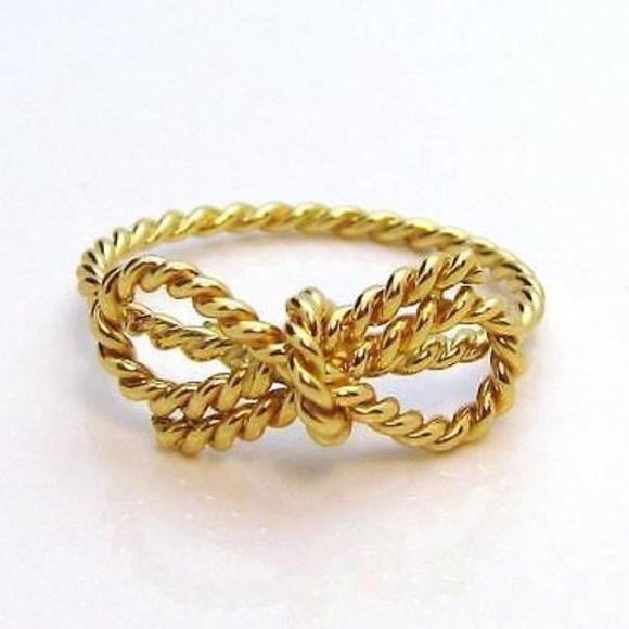 Tiffany Diamond Bow Ring