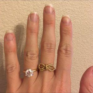 eb3415f691137 Tiffany & Co. Twist Bow Ring 18K Gold NWT