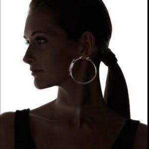 Elizabeth and James Jewelry - Elizabeth&James NWT $950 14k Gold+Silver  Earrings