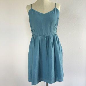 Forever 21 Dresses & Skirts - Hazy Teal Dress