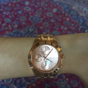 Marc by Marc Jacobs Rose Gold Ladies Watch MBM3394