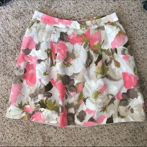 Halogen Dresses & Skirts - Halogen pleated floral skirt - size 14