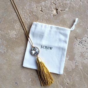 NWT J.Crew Tassel necklace